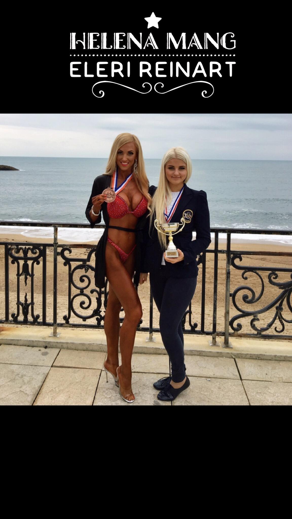 Helena Mang & Eleri Reinart Fitness Masterclass